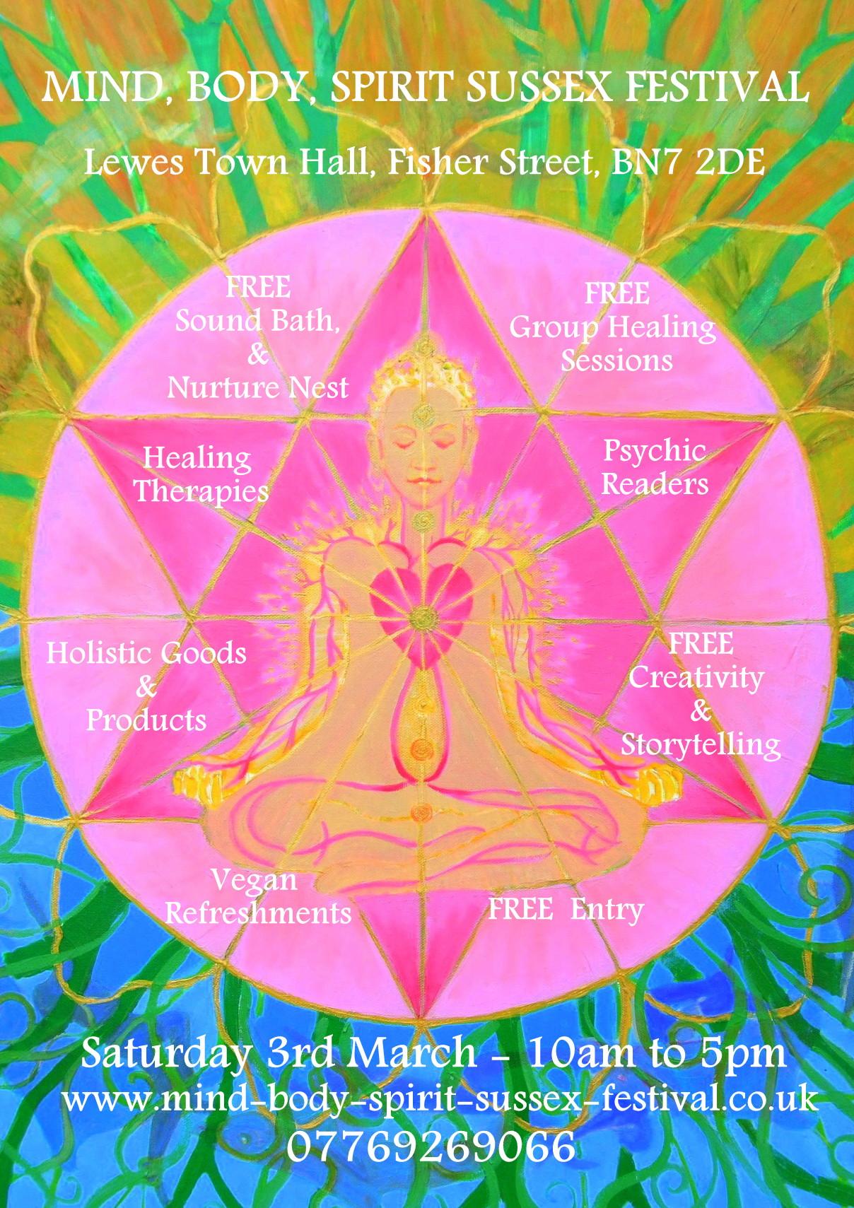 Mind, Body, Spirit Festival – Lewes